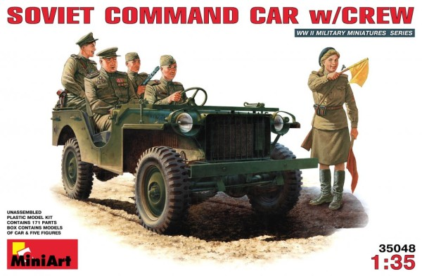 MA35048   Soviet command car with crew (thumb26066)