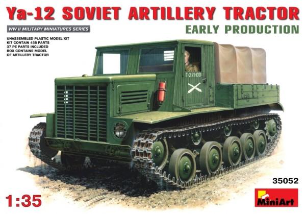 MA35052   Soviet artillery tractor Ya-12, early production (thumb26081)