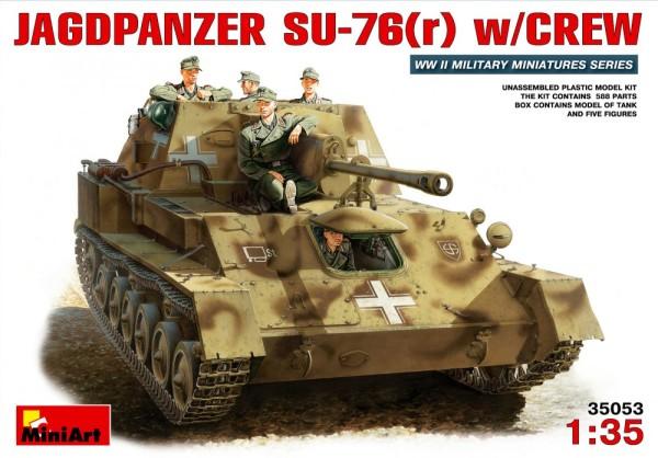 MA35053   Jagdpanzer SU-76(r) with crew (thumb26089)