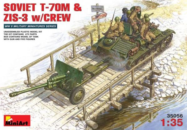 MA35056   Soviet T-70M & ZiS-3 with crew (thumb26101)