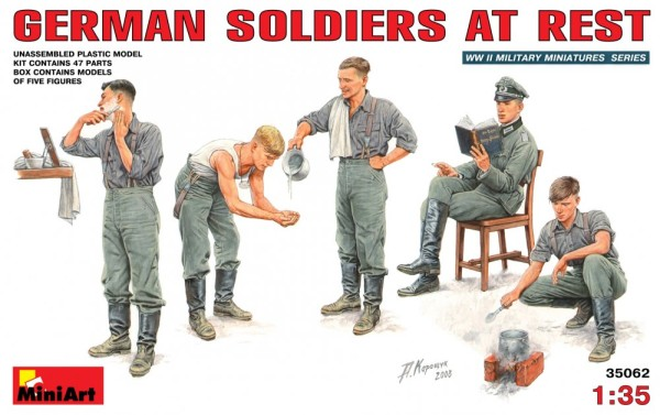 MA35062   German soldiers at rest (thumb26124)