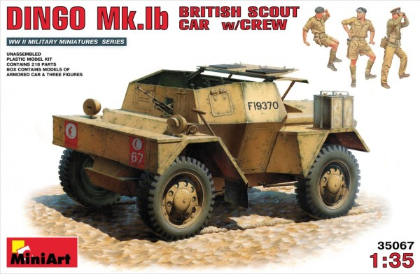 MA35067   British scout car DINGO Mk.1b with crew (thumb26133)