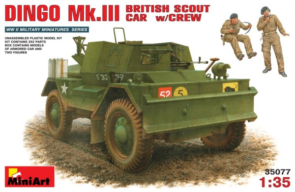 MA35077   British scout car DINGO Mk.3 with crew (thumb26168)