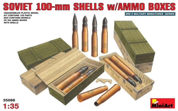 MA35088   Soviet 100-mm shells with ammo boxes (thumb26212)