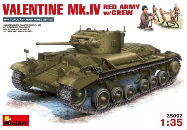 MA35092   Valentine Mk.IV Red Army w/crew (thumb26221)