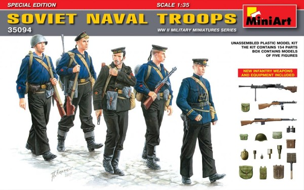 MA35094   Soviet naval troops. Special edition (thumb26231)