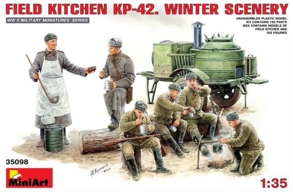 MA35098   Field Kitchen KP-42. Winter Scenery (thumb26248)