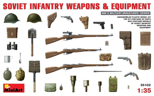 MA35102   Soviet infantry weapons and equipment (thumb26272)