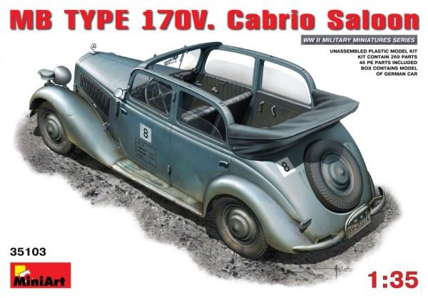 MA35103   MB Typ 170V. Cabrio Saloon (thumb26277)