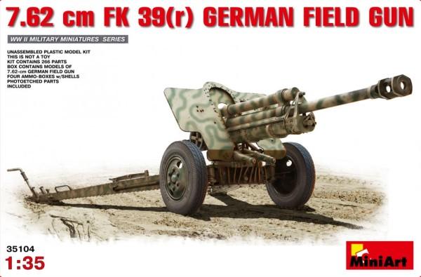 MA35104   7,62cm F.K. 39(r) German field gun (thumb26285)