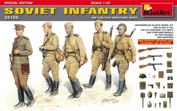 MA35108   Soviet infantry. Special edition (thumb26311)