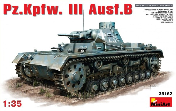 MA35162   Pz.Kpfw.III Ausf.B German medium tank (thumb26556)
