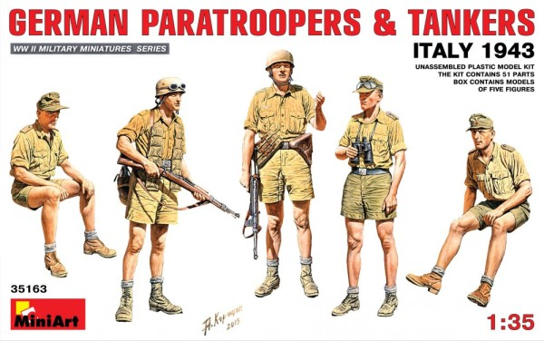 MA35163   German paratroopers & tankers, Italy 1943 (thumb26564)