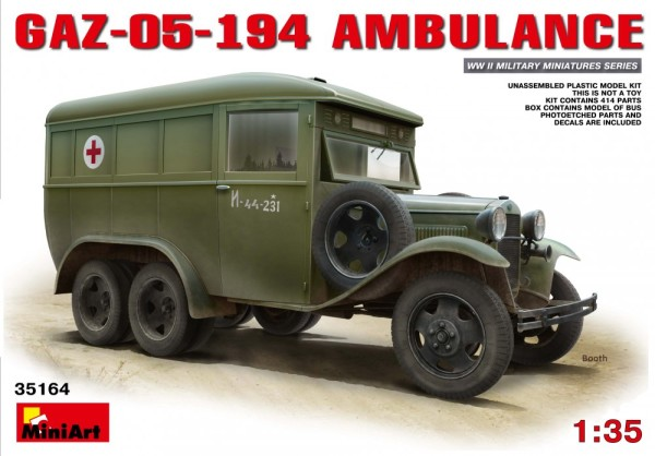 MA35164   GAZ-05-194 Ambulance (thumb26566)