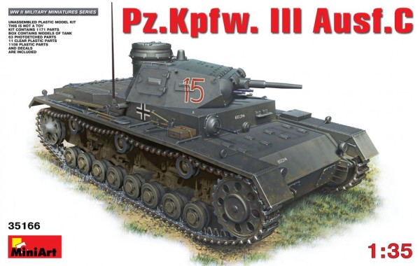 MA35166   Pz.Kpfw.III Ausf.C German medium tank (thumb26576)