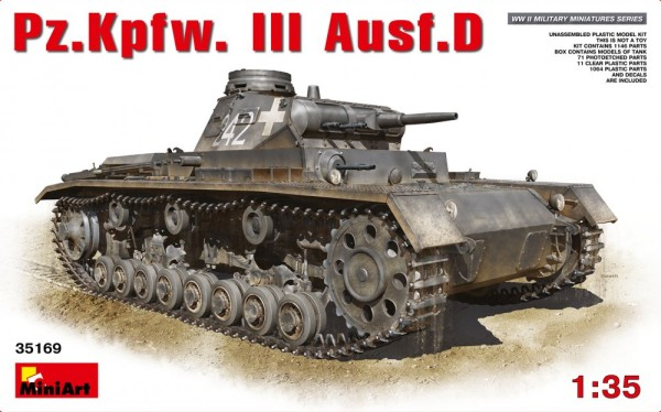 MA35169   Pz.Kpfw.III Ausf.D German medium tank (thumb26592)