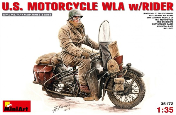 MA35172   U.S.Motorcycle WLA with rider (thumb26605)