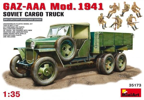 MA35173   GAZ-AAA Mod. 1941 Cargo truck (thumb26611)