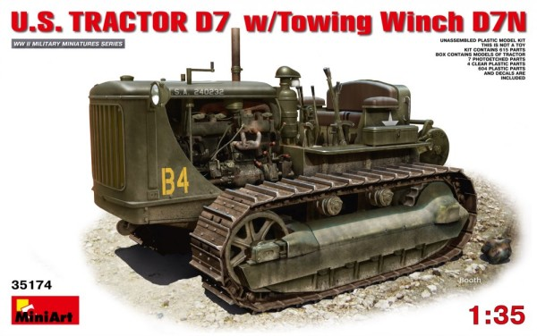 MA35174   U.S. tractor D7 w/Towing winch D7N (thumb26619)