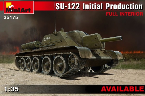 MA35175   SU-122 (Initial Production) w/Full Interior (thumb26627)