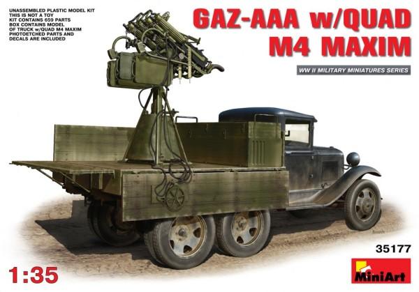 MA35177   GAZ-AAA  w/QUAD M4 Maxim (thumb26641)