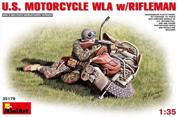 MA35179   U.S.Motorcycle WLA with Rifleman (thumb26655)
