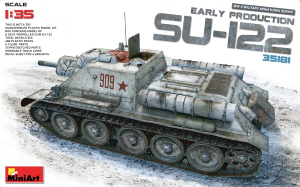 MA35181   SU-122 Soviet self-propelled gun,  early prod. (thumb26663)