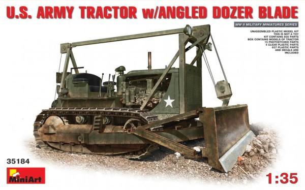 MA35184   U.S. Army tractor w/Angled dozer blade (thumb26683)