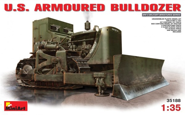 MA35188   U.S. armored bulldozer (thumb26705)