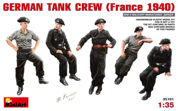 MA35191   German tank crew, France 1940 (thumb26714)