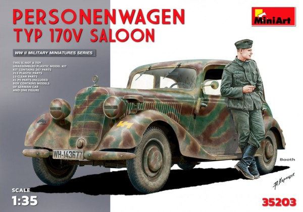 MA35203   Personenwagen Typ 170V Saloon. Special edition (thumb26759)