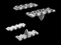 MA35216   T-34 wafer-type halved workable track links set (attach1 26806)