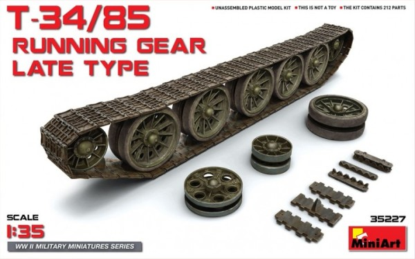MA35227   T-34/85 running gear, late type (thumb26842)