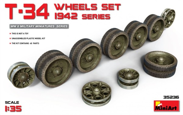 MA35236   T-34 Wheels Set. 1942 Series (thumb26872)