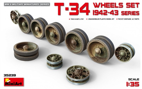 MA35239   T-34 Wheels Set. 1942-43 Series (thumb26876)