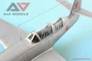 "AAM4802   Yak-23 DC ""Dubla Comanda"" training fighter (attach6 32542)"