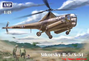 AMP48002   Sikorsky R-5/S-51 USAF rescue (thumb25725)