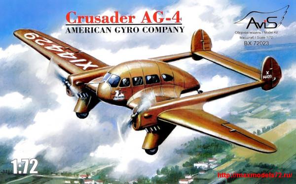 AV72023   Crusader AG-4 American gyro company (thumb25735)