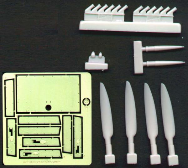 BRL48005   Correction set for ICM Spitfire (thumb30316)