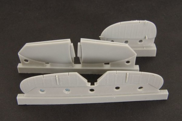 BRL48030   Spitfire MkIX control surfaces - early - for Airfix kit (thumb30394)
