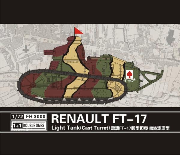 FH3000   Renault FT-17 Light Tank(Cast Turret) (thumb31025)