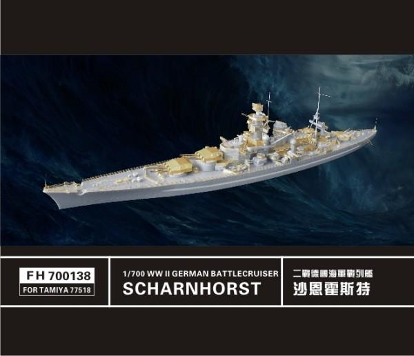 FH700138   WW II   German Battlecruiser Scharnhorst (FOR TAMIYA77518) (thumb31682)
