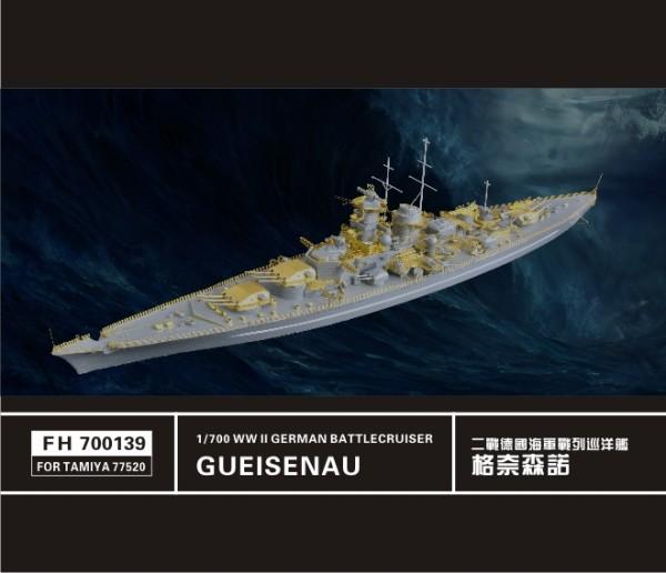FH700139   WW II   German Battlecruiser gueisenau   (FOR TAMIYA77520) (thumb31684)