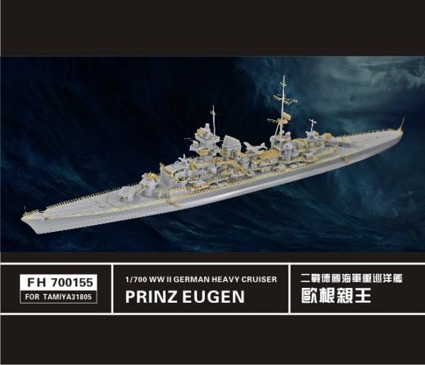 FH700155   WW II German Heavy Cruiser Prinz Eugen(for Tamiya31805 ) (thumb31702)