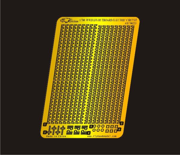 FH700223   WW II  IJN Outboard Electric Circuit (thumb31766)