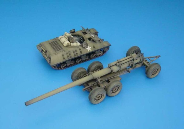 """HLP72003   M35 prime mover+M1 8""""GUN transp.wagon (SOLD-OUT) (thumb29137)"""
