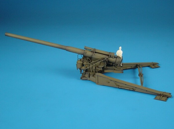 HLP72007   M1 8inch gun IN FIRE POSITION (thumb29152)