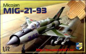 KO7205   MiG-21-93 Soviet fighter (thumb25667)