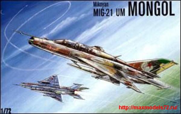 KO7207   MiG-21 UM MONGOL Soviet trainer-fighter (thumb25669)