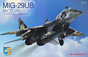 KO7208   MiG-29 UB Soviet training battle fighter (thumb25671)